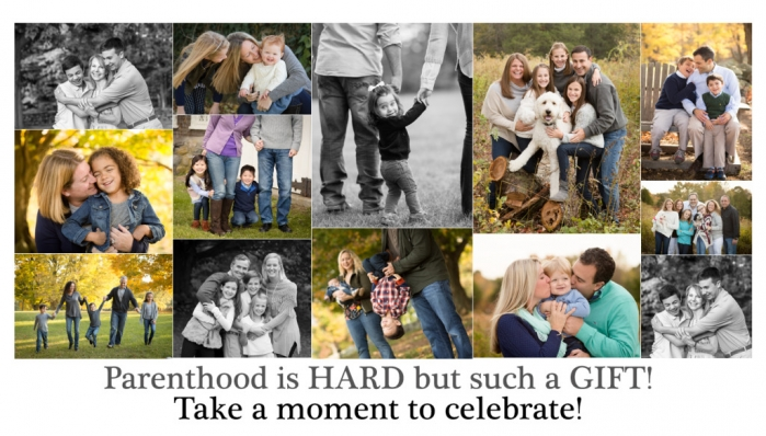 parenthood collage